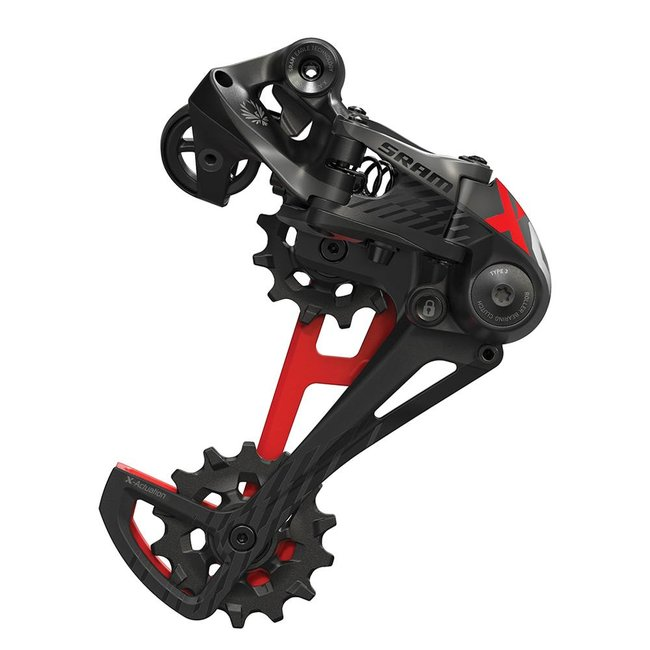 SRAM SRAM X01 Eagle Rear Derailleur - 12 Speed, Long Cage, Black