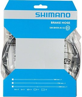 Shimano Shimano BH59-JK-SS 1700mm Disc Brake Hose Kit Black