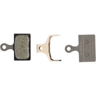 Shimano Shimano K03Ti Resin Disc Brake Pad with Spring