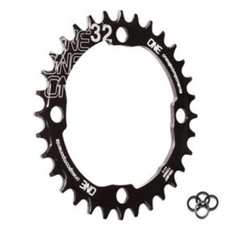 OneUp Components OneUp Components 104 Round Chainring, 104BCD 32T - Black