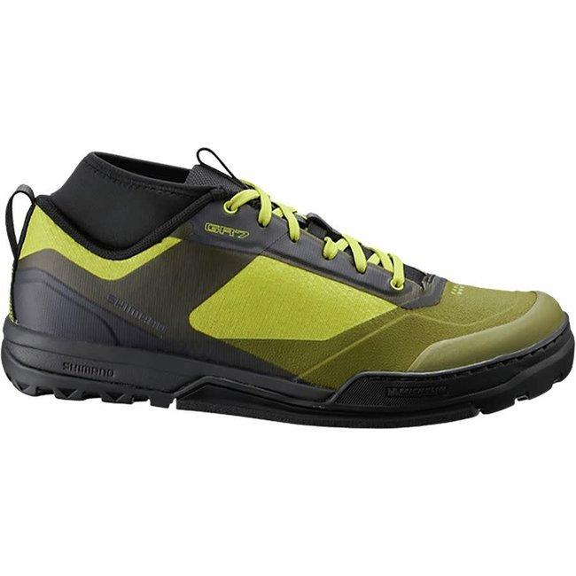 Shimano SH-GR7 Men's Flat Pedal Shoe Yellow