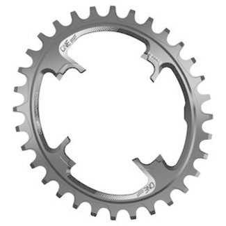 OneUp Components OneUp Components 104 Round Chainring, 104BCD 30T - Black