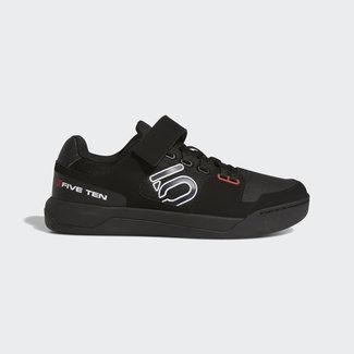 Five Ten Five Ten Hellcat Clipless Shoe Black/White/Red 11.5
