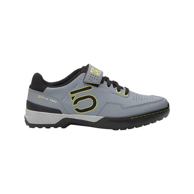 Five Ten Kestrel Lace Men's Clipless Mountain Shoe Onix/Yellow 8