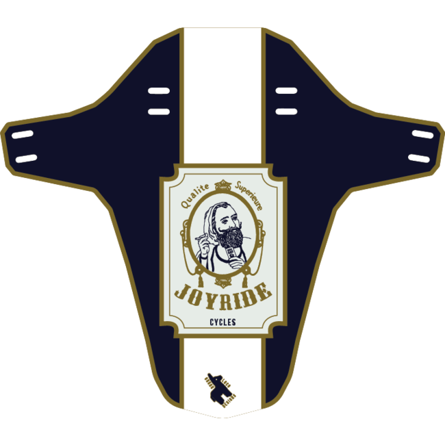 Burro Loco Joyride Fender - Joyride's Rolling Papers Navy White
