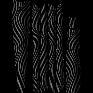 Burro Loco Designs Burro Loco Designs Frame Protection - Slim Cut