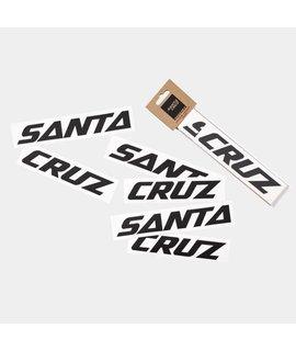 Santa Cruz Bicycles Santa Cruz Downtube Decal