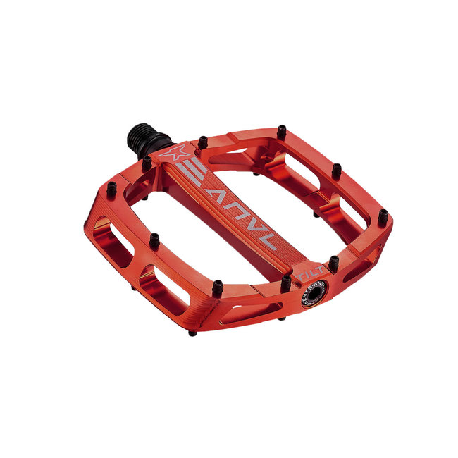 Tilt V3 Platform Pedals - Red