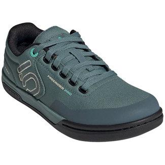 Five Ten Five Ten Women's,  Freerider Pro Primeblue Flat Shoe  Acid Mint/Hazy Emerald/Sand 8.5