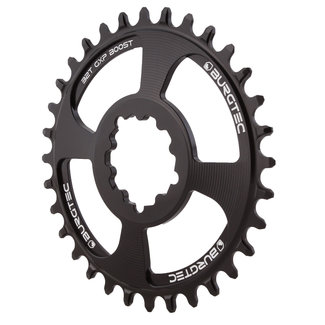 Burgtec GXP Boost 3mm Offset Thick Thin chainring, 30T - Black