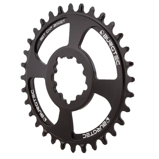 GXP Boost 3mm Offset Thick Thin chainring, 30T - Black
