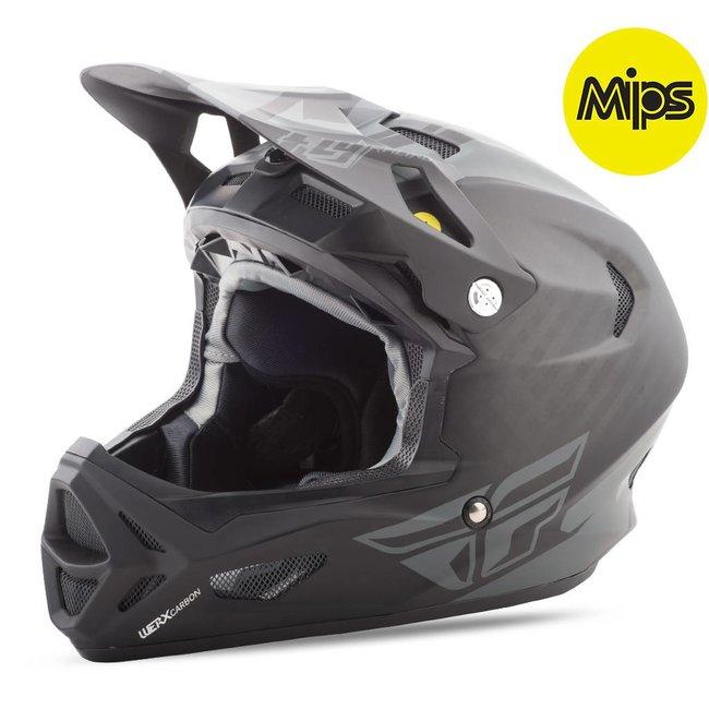 Fly Racing Fly Racing Werx Mips Rival Helmet Black/Charcoal Large