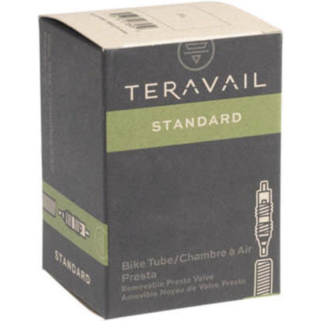 """Q-Tubes / Teravail 16"""" x 1.25-1.5"""" 32mm Presta Valve Tube 76g"""