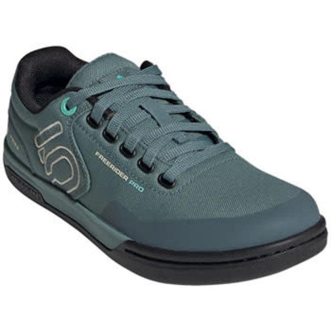 Five Ten Women's,  Freerider Pro Primeblue Flat Shoe Acid Mint/Haze Emerald/Sand