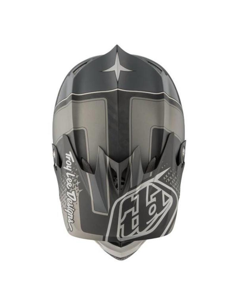 Troy Lee Designs Troy Lee Designs, D3 Carbon Mips Helmet, Starburst Black, Large