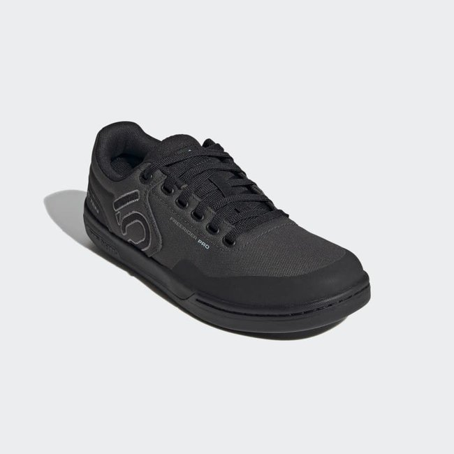 Five Ten Men's, Freerider Pro Primeblue Flat Shoe DGH Solid Grey/Grey Three/Acid Mint