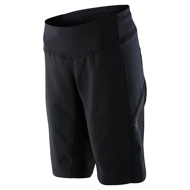 Troy Lee Designs Womens Luxe Shorts No Liner, Black