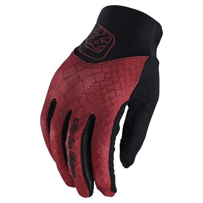 Troy Lee Designs Womens Ace 2.0 Gloves, Snake Poppy