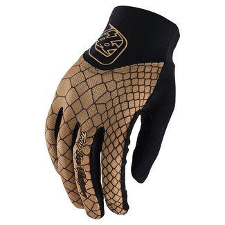Troy Lee Designs Troy Lee Designs Womens Ace 2.0 Gloves, Snake Gold