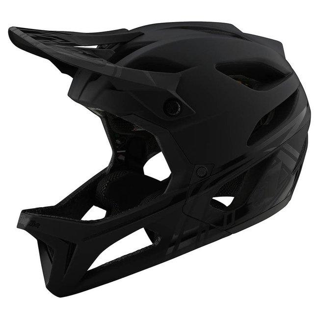 Troy Lee Designs Troy Lee Designs Stage Helmet, Stealth Midnight