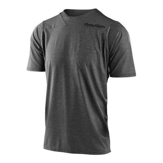 Troy Lee Designs Skyline Short Sleeve Jersey, Heather Dark Grey
