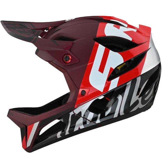 Troy Lee Designs Troy Lee Designs Stage Helmet, Nova Sram Burgundy