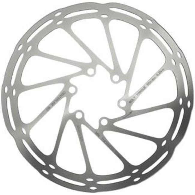SRAM CenterLine Disc Brake Rotor - 220mm, 6-Bolt, Silver
