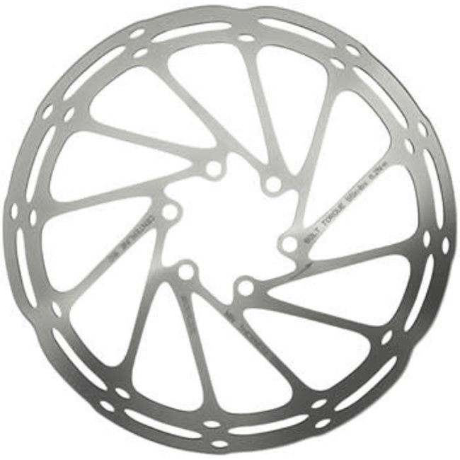 SRAM SRAM CenterLine Disc Brake Rotor - 220mm, 6-Bolt, Silver