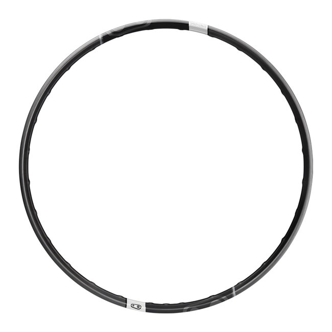 """Crank Brothers Synthesis Alloy Enduro 29"""" Front Disc Rim, 28h - Black"""