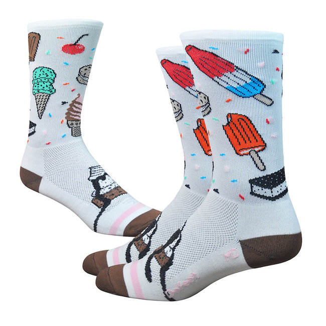 """Aireator 6"""" ISCREAM, 9.5-11.5, (White/Brown/Pink)"""