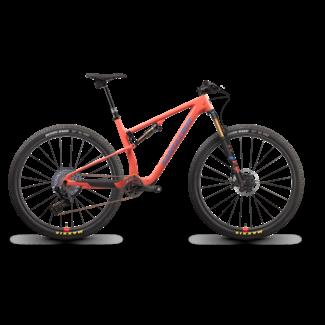 Santa Cruz Bicycles Santa Cruz 2022 Blur TR CC XX1 AXS Reserve 28 Salmon Medium