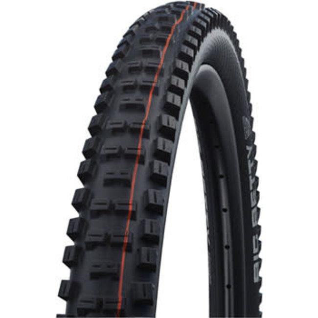 "Schwalbe Schwalbe Big Betty Tire - 27.5 x 2.4"", Tubeless, Folding, Black, Evolution Line, Addix Soft, Super Trail"