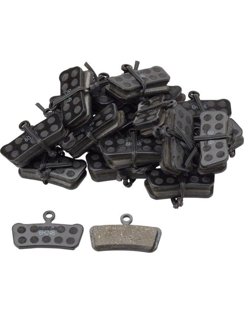 SRAM SRAM Guide And Trail Organic Brake Pads with Steel Back, single