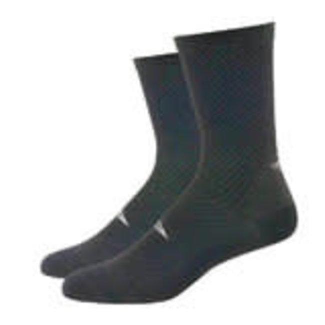 "DeFeet Evo Carbon 6"" Socks"
