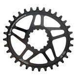Wolf Tooth Components Wolf Tooth Elliptical Direct Mount Chainring for SRAM Cranks 52mm Chainline 3mm Offset