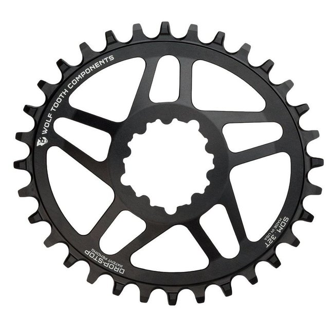 Wolf Tooth Elliptical Direct Mount Chainring for SRAM Cranks 52mm Chainline 3mm Offset