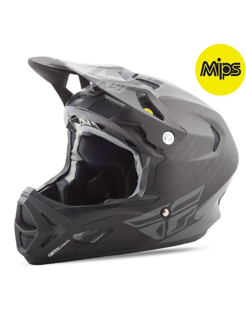 Fly Racing Fly Racing Werx Mips Rival Helmet Black/Charcoal Large