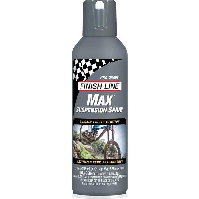 Finish Line Max Suspension Spray Lubricant, 9oz Aerosol