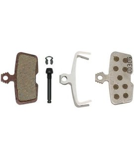 SRAM SRAM Avid Code, RSC, Code R, Guide RE Organic Disc Brake Pad, Aluminum Back, Pair