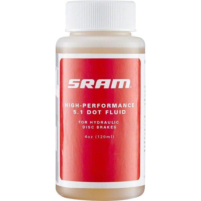 SRAM 5.1 DOT Hydraulic Brake Fluid 4oz