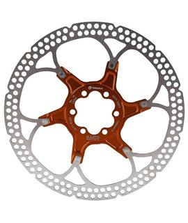 Formula USA Formula Italy Rotor, 6-Bolt - 180mm, Alloy Carrier - Red
