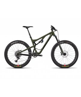 Santa Cruz Bicycles Santa Cruz Bronson 2018 CC XO1 W/RSV Olive/Black Large