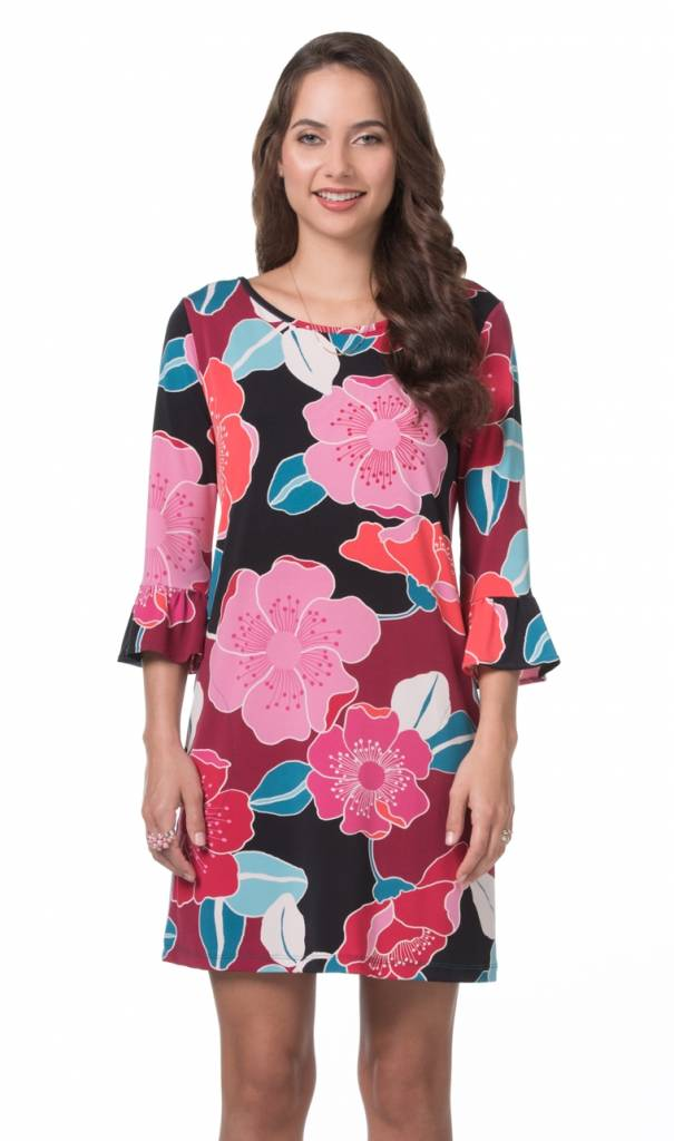 TORI RICHARD Lana Dress Very Cherry