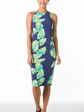 KARLEY DRESS IN SOCIAL CLIMBER