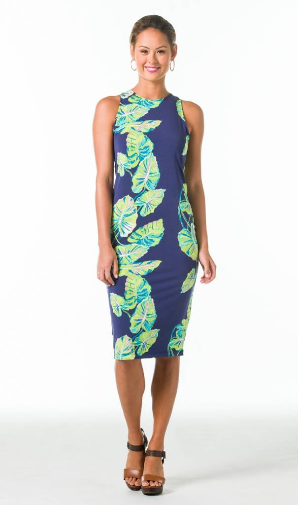 KARLEY DRESS IN SOCIAL CLIMBER