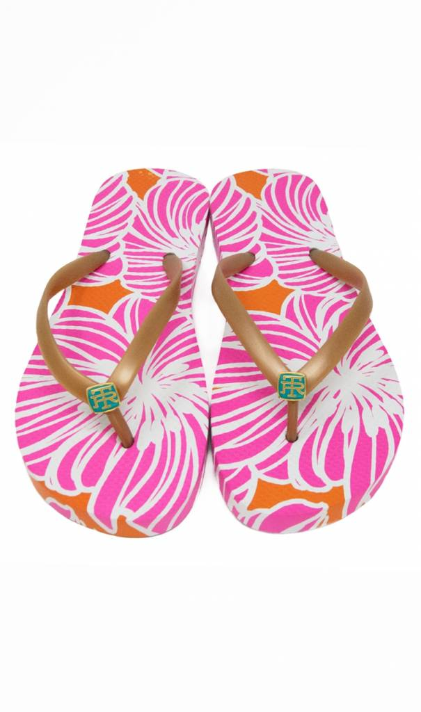 TORI RICHARD FLIP FLOP IN LITTLE BLISS