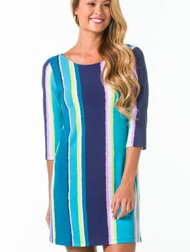 TORI RICHARD EMILY DRESS IN SHOW YOUR STRIPES