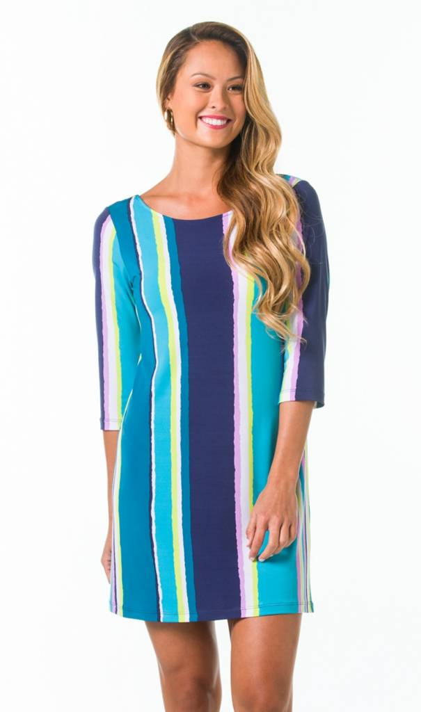 EMILY DRESS IN SHOW YOUR STRIPES