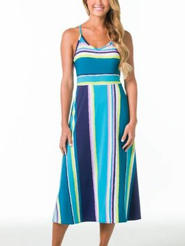 COURTNEY DRESS IN SHOW STRIPE
