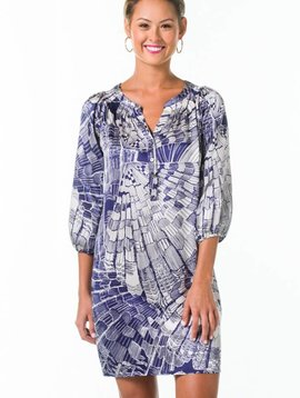 TORI RICHARD BEATRICE DRESS IN A LOTTA CLAM